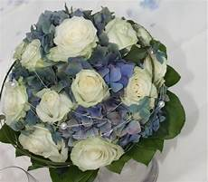Brautstrauß Hortensien Und - hortensien brautstrau 223 wei 223 blau muss nicht immer