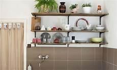 Küche Offenes Regal - diy k 252 che mit offenen regalen handmade kultur