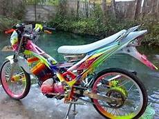 Motor Satria Modifikasi by Modif Suzuki Satria Fu Air Brush Terbaru