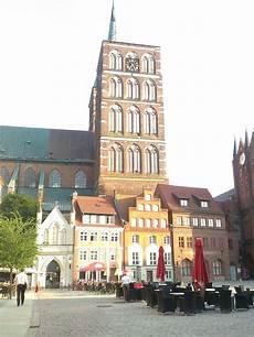 Stralsund Blick Vom Neuen Markt Stralsund Deutschland