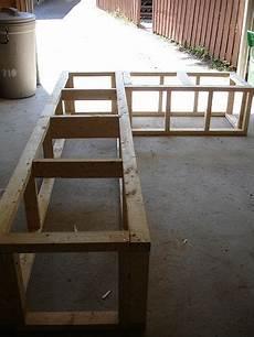 all decked out garden storage bench diy outdoor