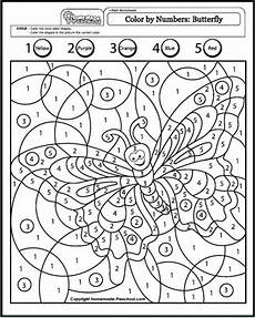 Ausmalbilder Zahlen Kindergarten Color By Number Coloring Pages Mit Bildern Malen Nach