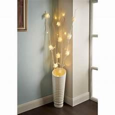 25 led rose branch lights home decor lighting