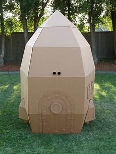 amazing cardboard rocket for hours of indoor or