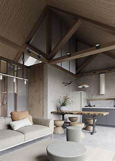 modern house interiors with dynamic texture and contemporary small house with color palette and