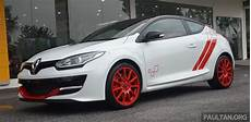 renault megane rs 275 trophy r launched in malaysia