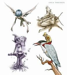 Ausmalbilder Elfen Und Kobolde The Most Beautiful Fairies Tattoos By Luca Tarlazzi