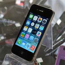 Apple Iphone 4 Black 8gb Excellent Used At T Smartphone