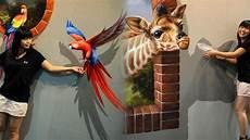 Contoh Gambar Hewan Tiga Dimensi Lukisan 3 Dimensi Ini