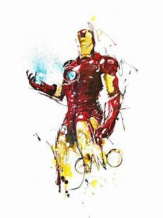 iron maniron iron kunst marvel zeichnungen