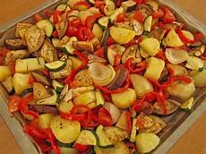 Ofengemüse Mit Kartoffeln - mediterranes ofengem 252 se mit 214 l und zitrone agleh