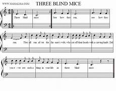 does anyone know the notes of three blind mice the yahoo answers
