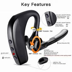 review for bluetooth headset kabelloses freisprechanlage