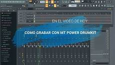 mt power drumkit 2 studio one como grabar en mt power drum kit 2 y fl studio espa 241 ol youtube