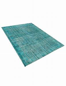 vintage teppich blau vintage teppich 280 x 193