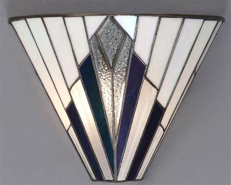 Astoria Tiffany Wall Light Art Deco Design 63940