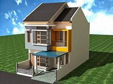 Desain Rumah Minimalis 2 Lantai Type 29 Foto Desain