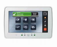 dsc ptk5507w powerseries touchscreen security interface