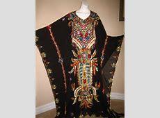 FANCY DRESS ABAYA KHALEEJI THOBE KAFTAN Ethnic Middle East