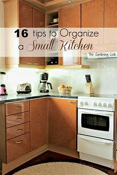 Organizing My Kitchen by Organize Small Kitchen The Gardening Cook