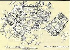 addams family house plan architectural blueprints of archetypal tv homes addams