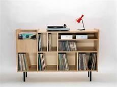 meuble rangement pour disque vinyle meuble hi fi vinyle meuble vinyle vinyles et li