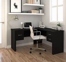home office furniture corner desk premium modern 59 quot x 53 quot corner black office desk office