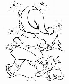 Ausmalbilder Weihnachten Tiere Bluebonkers Animals Coloring Pages 1