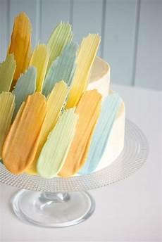 brushstroke cake mit einfacher schritt f 252 r schritt