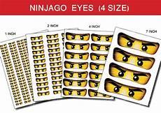 Ninjago Malvorlagen Augen Free Digital File Ninjago For Balloon Stickers By