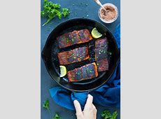 easy blackened salmon