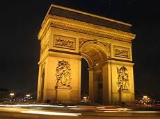 arc de triomph world visits arc de triomphe popular monument in