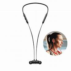 Sanag Magnetic Wireless Necked Bluetooth Sports by Sanag S1 Magnetic Wireless Necked Bluetooth Sports Headset