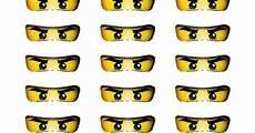 Ninjago Malvorlagen Augen Anleitung Printable Ninjago Event