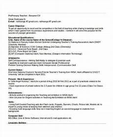 29 basic teacher resume templates pdf doc free premium templates