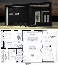 modern one bedroom house plans studio900 small courtyard plan