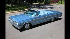 1964 Chevrolet Impala Ss Convertible For Sale 327 325hp