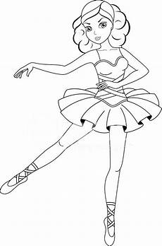 ballerina coloring pages for at getdrawings free