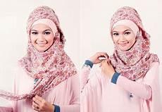 Baju Muslim Terbaru Dan Terkini Model Jilbab Segi Empat