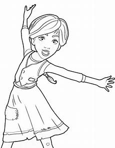 topmodel ballerina ausmalbilder