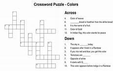 colors crossword worksheets 12726 crossword puzzle color craze 5 8 color wars and worksheets