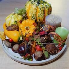 diy herbstdeko herbstteller ganz easy dekorieren