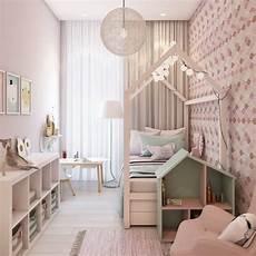 Kinder Zimmer Für Mädchen - schmales kinderzimmer f 252 r m 228 dchen mit attraktiver