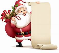 royalty free santa list clip vector images