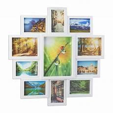 foto bilderrahmen relaxdays bilderrahmen collage bildergalerie f 252 r 11 fotos