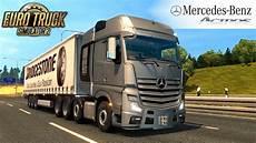 truck simulator 2 mercedes actros 4163 slt