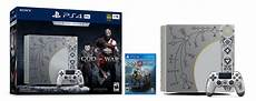 sony unveils god of war ps4 pro bundle to release