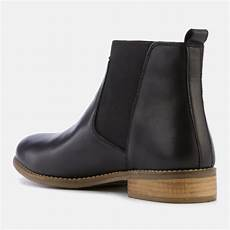 dune s quote leather chelsea boots black womens