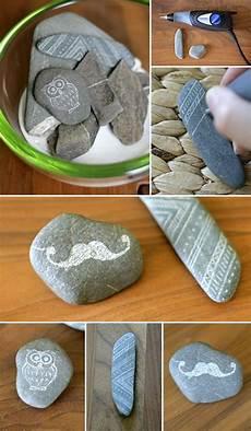 Gravieren Selber Machen - steine gravieren craft ideas stein gravieren steine
