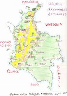 ubicacion de los simbolos naturales en el mapa de venezuela parques naturales